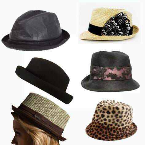 역삼각형 얼굴형에 어울리는 모자
