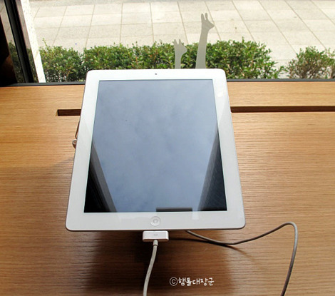 T월드카페, 태블릿 PC 체험존