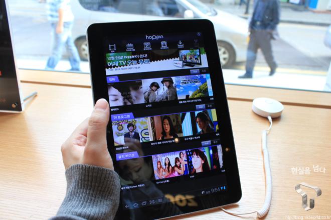 T월드 카페 - 태블릿PC 무료 대여