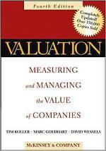 Valuation (MacKinsey, Wiley)