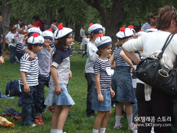 사미에 공원에서 만난 귀여운 어린이들