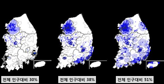skt 4.5g 서비스 지역 확대 이미지