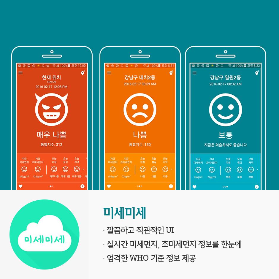 SKT Insight   알면 건강하고 모르면 손해, 각양각색 미세먼지 앱