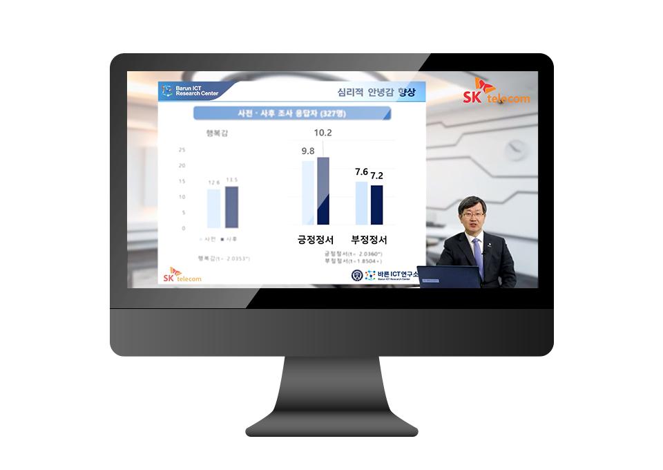 SKT, 인공지능돌봄, AI돌봄, 온라인기자간담회