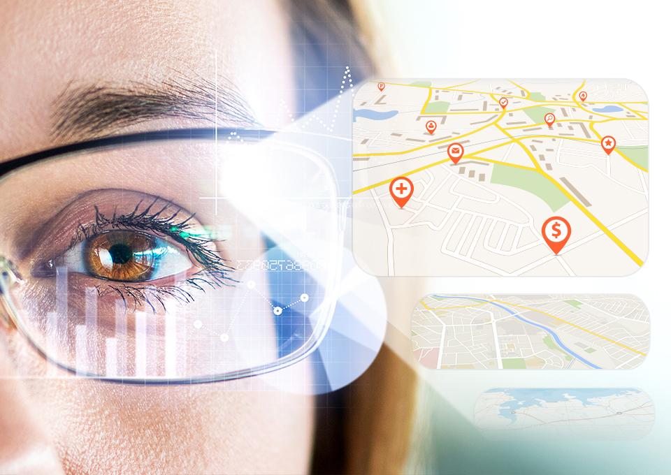 내비게이션, 보행자네비게이션, 위치청보빅데이터, 기지국접속정보, T안심보행