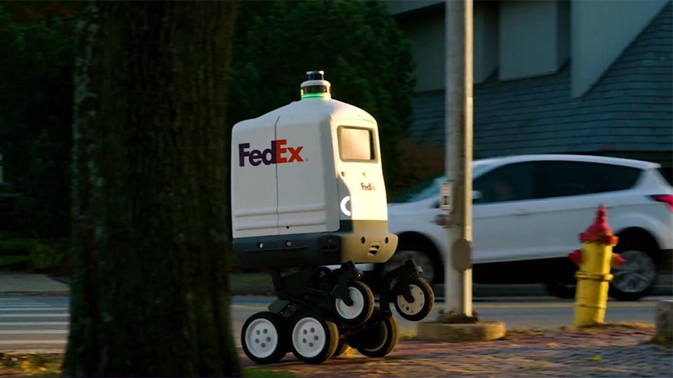 페덱스, fedex, 페덱스 배송로봇, 페덱스 로봇배송, 페덱스 세임데이봇, fedex sameday bot, sameday bot
